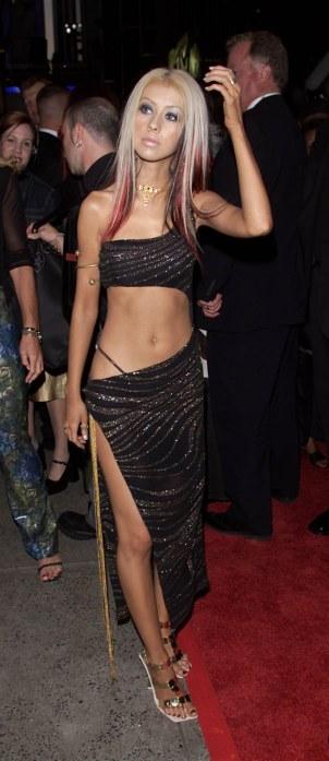 Christina Aguilera MTV VMAs 2000