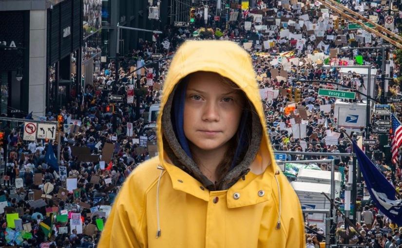 El fenómeno Greta Thunberg moviliza amillones